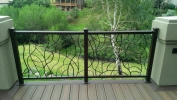 deckrailings48 - Custom Vine railing